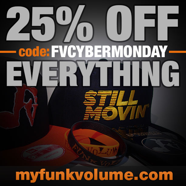 Cyber Monday Sale: Funk Volume