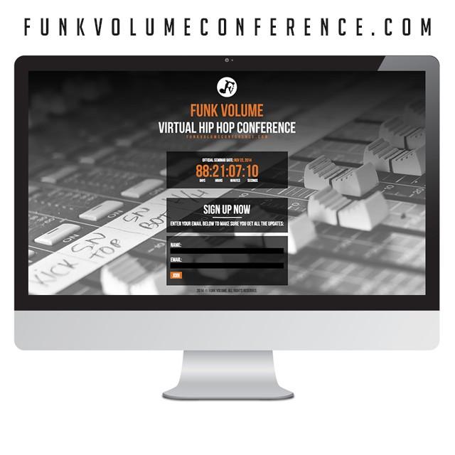 funk-volume-conference-webiste