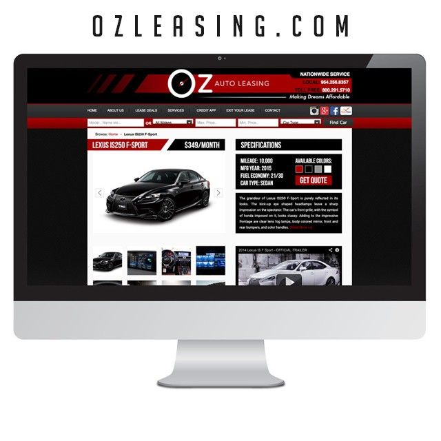 ozleasing-website
